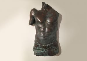 Male torso, reproductions available - $750